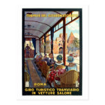 Vintage Rome 1920s Italian travel poster Post Cards