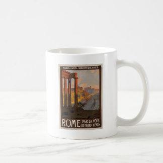 Vintage Rome Art Coffee Mugs