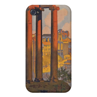 Vintage Rome Italy Cover For iPhone 4