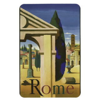 Vintage Rome Italy magnet