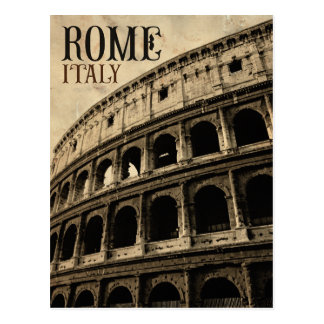 vintage rome italy post cards