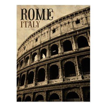 sumners vintage rome italy postcard