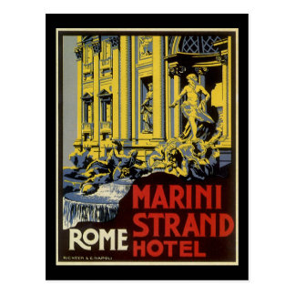 Vintage Rome Post Card