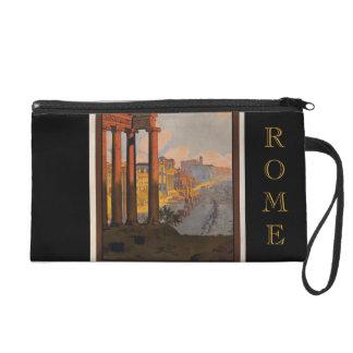 Vintage Rome Saturn Travel Wristlet