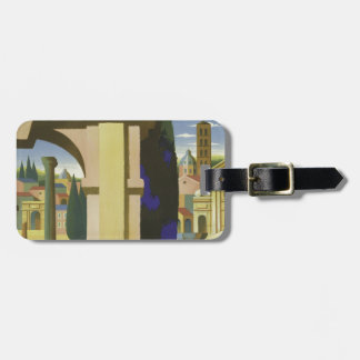 Vintage Rome Travel Tag For Luggage