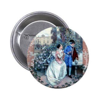 Vintage Romeo and Juliet poster Pinback Buttons