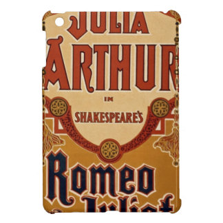 vintage-romeo-and-juliet-poster iPad mini covers