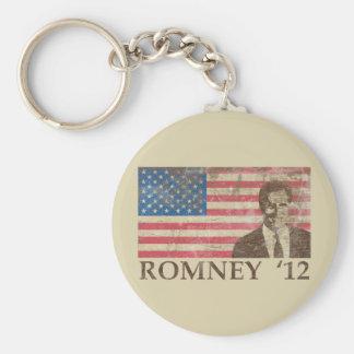 Vintage Romney 2012 Keychain