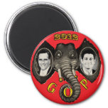 Vintage Romney Ryan 2012 Imanes Para Frigoríficos