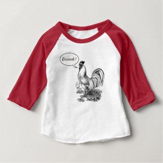 Vintage rooster illustration baby T-Shirt