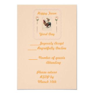 Vintage Rooster Ride 2 Card