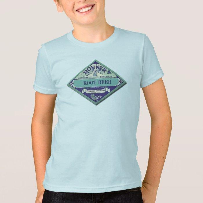Vintage Root Beer Advertising Label T-Shirt