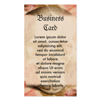Vintage Rosa Skull Collage Double-Sided Standard Business Cards (Pack Of 100)