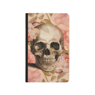 Vintage Rosa Skull Collage Journal