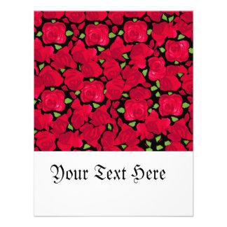 Vintage rosa tic de novela comunicados personalizados