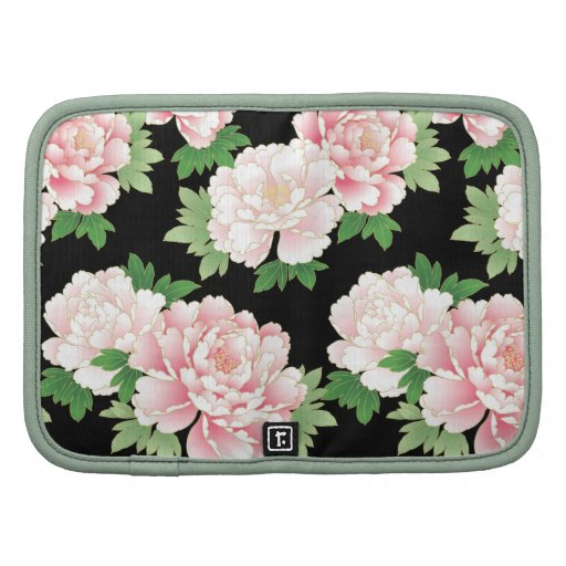 Vintage rosado hermoso del Peony floral Organizador