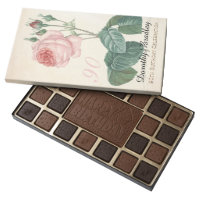 Vintage Rose 90th Birthday Chocolate Box