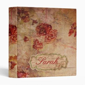 Vintage Rose Binder
