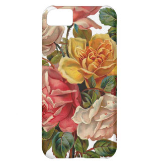 Vintage Rose Bouquet iPhone 5C Case
