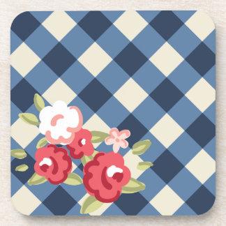 Vintage Rose Coasters (6 pieces)