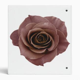 vintage rose elegant simple chic flower beautiful binder