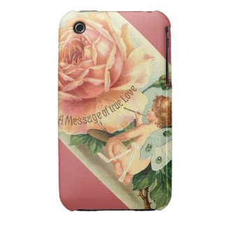 Vintage Rose Fairy illustration - iPhone 3G/3GS iPhone 3 Case-Mate Case