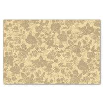 Vintage Rose Floral Pattern Tissue Paper