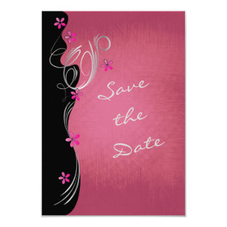 Vintage Rose Floral - Save the Date Card