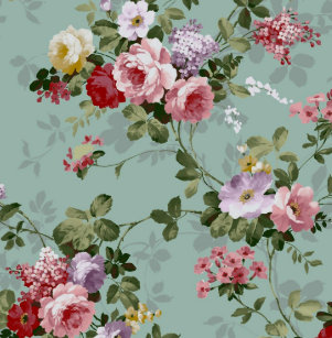 Cute Vintage Rose Wallpaper Gifts On Zazzle