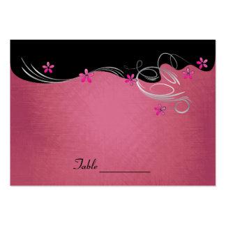 Vintage Rose Floral Wedding Large Business Card