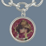 Vintage Rose Girl Bracelet