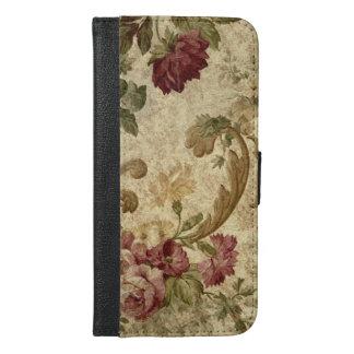 Vintage Rose Gold iPhone 6/6s Plus Wallet Case