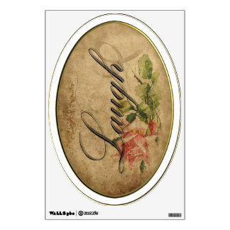 Vintage Rose Inspiration Wall Graphic