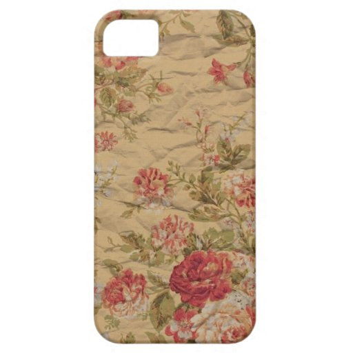 Vintage Rose iPhone 5 Case