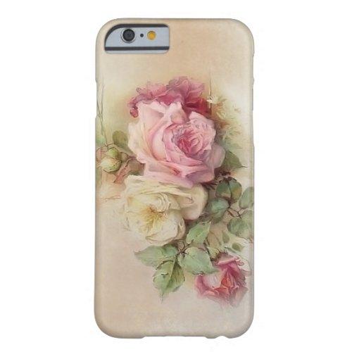 Vintage Rose iPhone 6 Case Phone Case