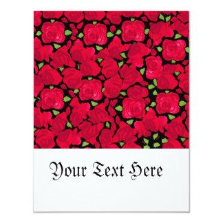 Vintage rose novel TIC Card