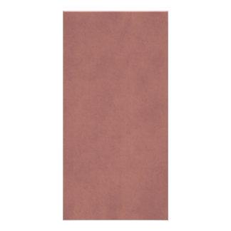 Vintage Rose Parchment Antique Paper Template Photo Card