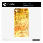 Vintage Rose Pattern Skin For The iPhone 4S