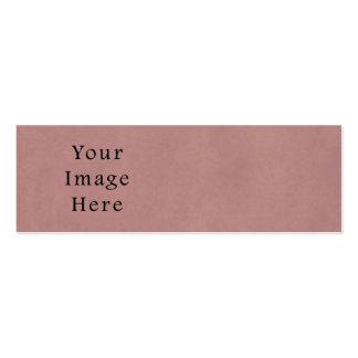 Vintage Rose Pink Lavender Parchment Paper Purple Business Cards