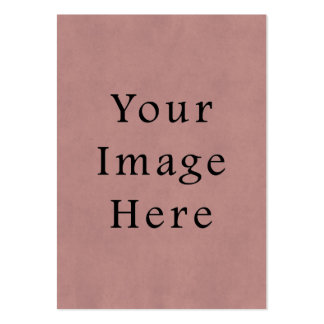 Vintage Rose Pink Lavender Parchment Paper Purple Business Card Template