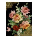 Vintage Rose Postcard