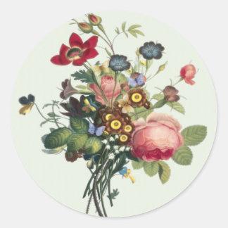 Vintage-Rose Sticker
