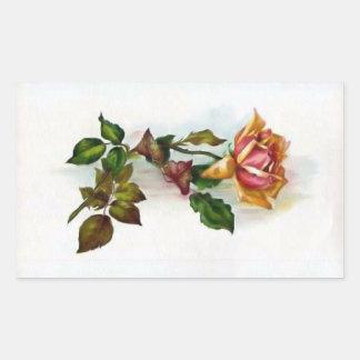 Vintage Rose Sticker