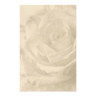 """Vintage Rose"" Writing Paper Stationery"