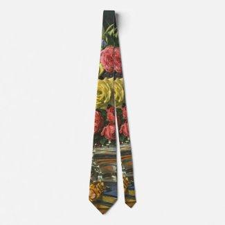 Vintage Roses 1840 Neck Tie