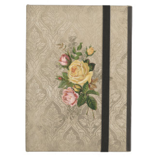 Vintage Roses and Damask iPad Cases