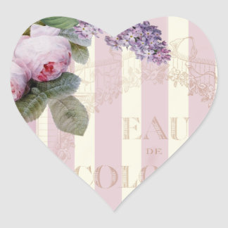 Vintage Roses and Lilac Sticker