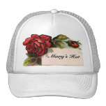 Vintage Roses and Your Name Hat