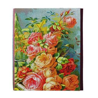 Vintage Roses iPad Folio Cases