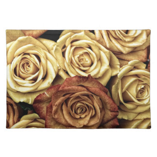 Vintage Roses Cloth Placemat